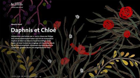 "Multimedia-Dokumentation ""Daphnis et Chloé"""
