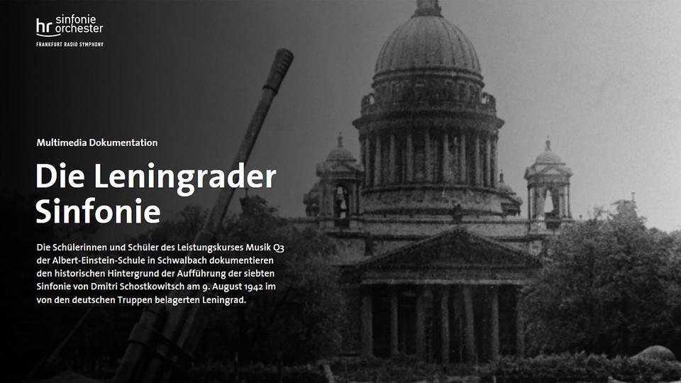 "Multimedia-Dokumentation ""Die Leningrader Sinfonie"""