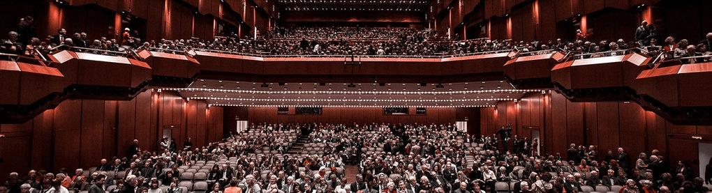 Das hr-Sinfonieorchster beim Konzert in der Alten Oper Frankfurt