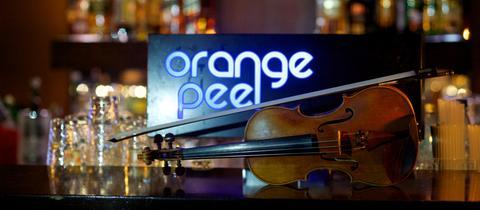 Schriftzug Orange Peel