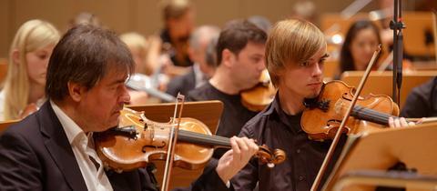Musiker des hr-Sinfonieorchesters