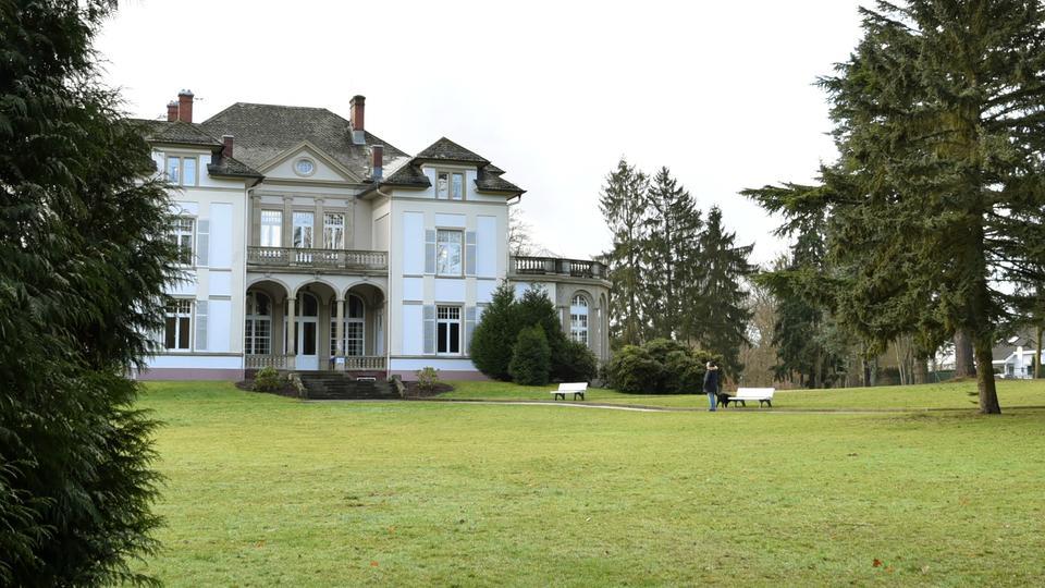 Bad Homburg - Villa Wertheimber im Gustavsgarten