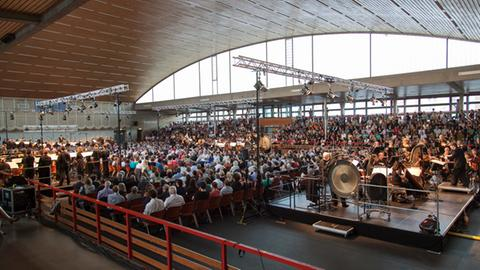 Darmstadt - Sporthalle Böllenfalltor
