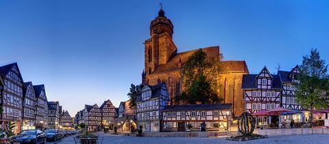 Homberg (Efze) - Marktplatz