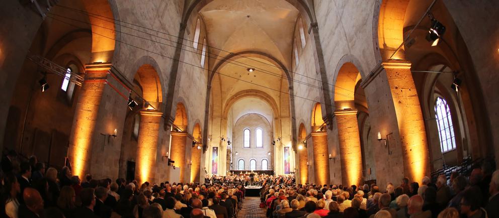 Konzert im Kloster Eberbach beim Rheingau Musik Festival