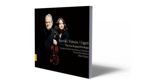 CD-Cover Béla Bartók / Peter Eötvös / György Ligeti