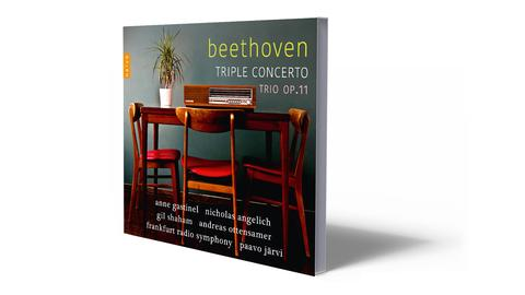 CD-Cover Beethoven - Tripelkonzert