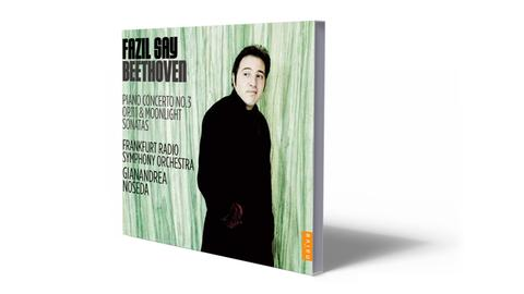 CD-Cover Fazil Say Beethoven