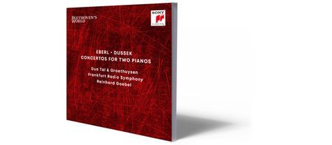 CD-Cover Eberl / Dussek: Klavierkonzerte