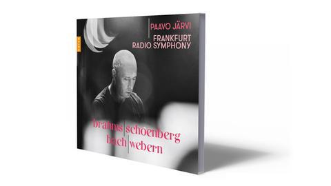 CD-Cover Brahms-Schönberg-Bach-Webern