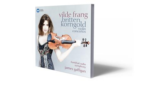 CD-Cover Britten Korngold