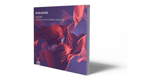 CD-Cover Eötvös - Gliding