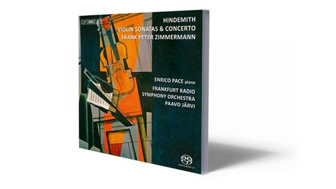 CD-Cover Hindemith Violin