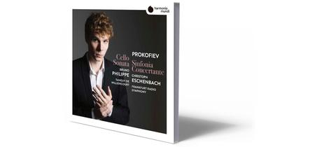 CD-Cover Prokofjew - Sinfonia Concertante
