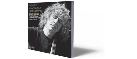 CD-Cover Prokofjew Schostakowitsch