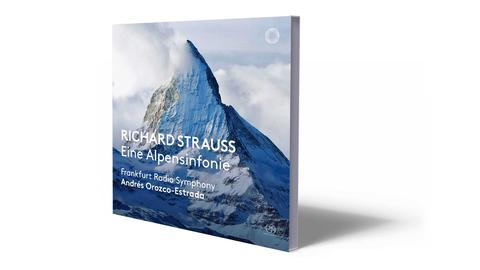 CD-Cover Strauss - Alpensinfonie