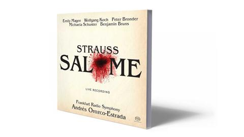 CD-Cover Strauss - Salome