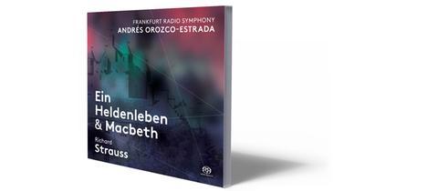 CD-Cover Strauss - Heldenleben / Macbeth