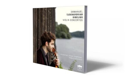 CD-Cover Tjeknavorian - Sibelius