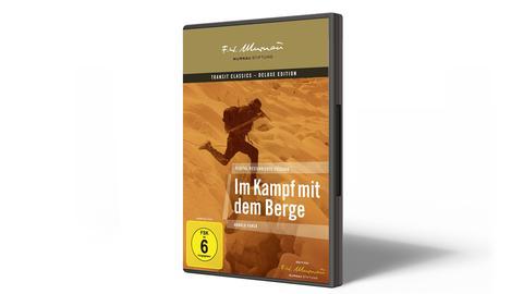 DVD-Cover Im Kampf mit dem Berge