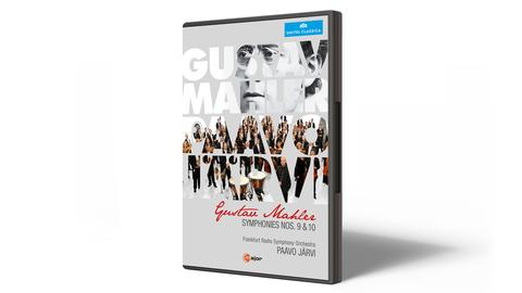 CD-Cover Gustav Mahler