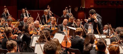 hr-Sinfonieorchester-Spielszene