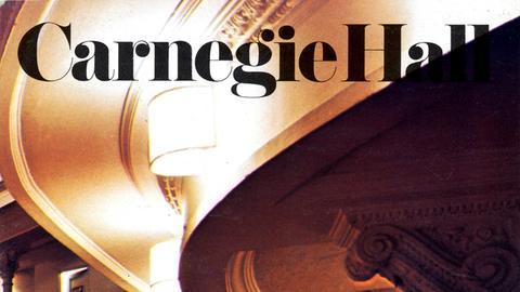 Plakat Carnegie Hall