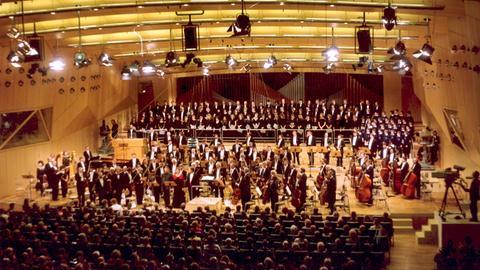 Orchester im hr-Sendesaal