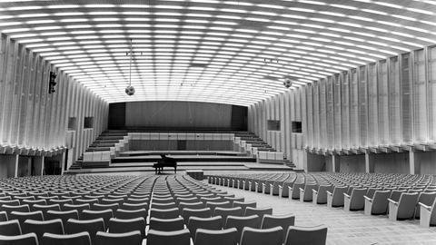 Großer Sendesaal im  Funkhaus Dornbusch