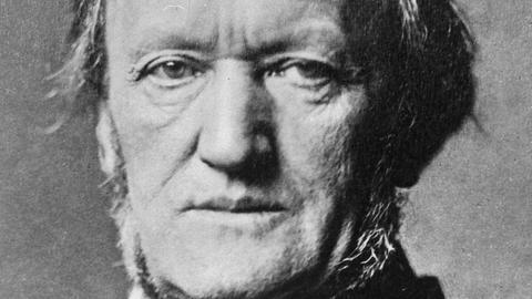 Der Komponist Richard Wagner (Archivfoto von 1877)