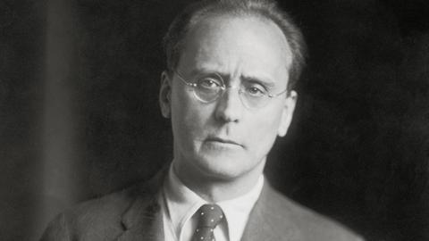 Anton Webern, Porträt von 1932