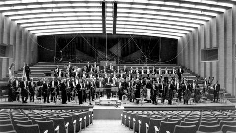 Orchesterbild mit Dean Dixon