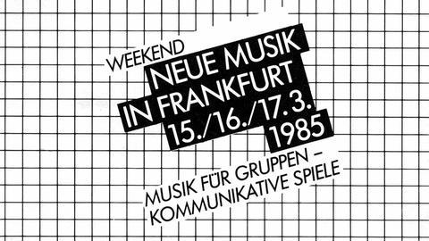 Weekend Neue Musik