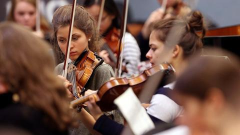 Junge Musikerinnen